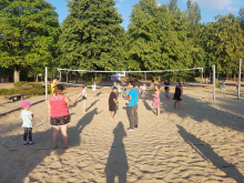 Tag 1: Volleyballturnier
